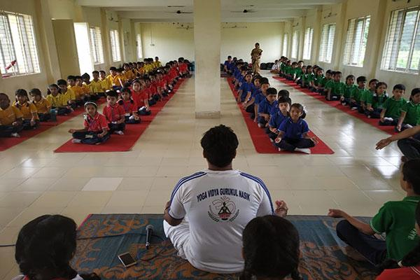 MVM School Tezpur Celebrated Yoga Day.